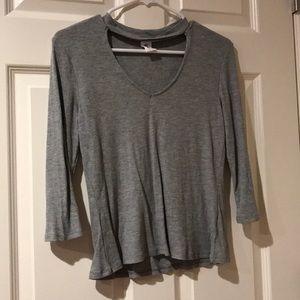 Gray me to we shirt